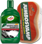 Turtle Wax Wash & Wax Shampoo + JUMBOSVAMP