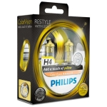 PHILIPS H4 COLORVISION, GUL - 2-PAK