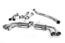 Nissan GT-R R35 Primary Catback Quad 127mm GT127