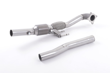 Volkswagen (VW) Scirocco R Large Bore Downpipe and Hi-Flow S